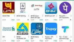 UPI Platforms